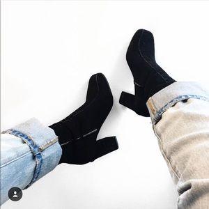 Tony Bianco Jessica Boot Black Suede